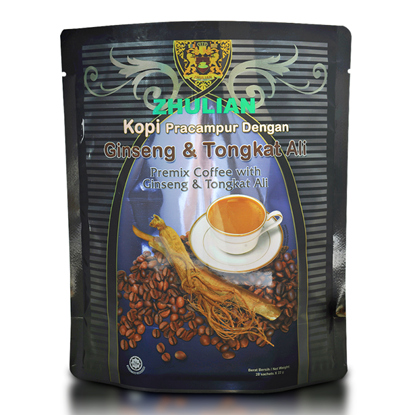 Picture of ZHULIAN Premix Coffee with Ginseng & Tongkat Ali
