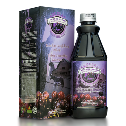 Picture of SQUEEZY Blackcurrant Cordial with Juice Concentrate