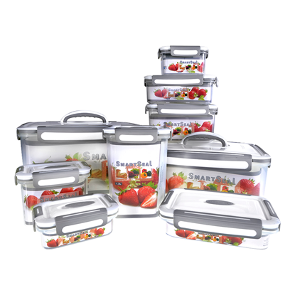 Picture of SMARTSEAL AIRTIGHT FOOD CONTAINERS (SET of 9)