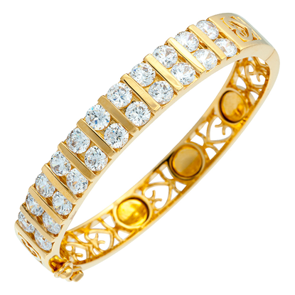 Picture of Gold Plated Bangle Jewellery (BG8598)