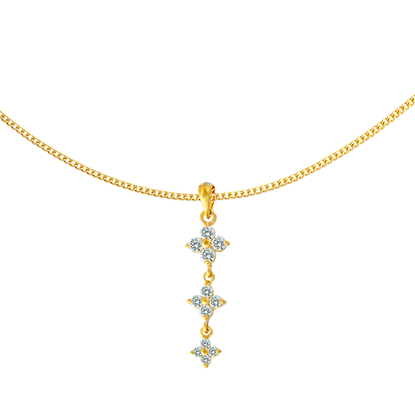 Picture of Gold Plated Pendant Jewellery (PT8658)