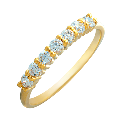 Picture of Gold Plated Ring Jewellery (RG8663)