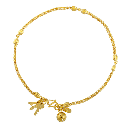 Picture of Gold Plated Anklet Jewellery (AL8521)