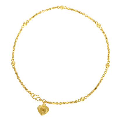Picture of Gold Plated Anklet Jewellery (AL8523)