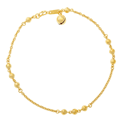 Picture of Gold Plated Anklet Jewellery (AL8643)