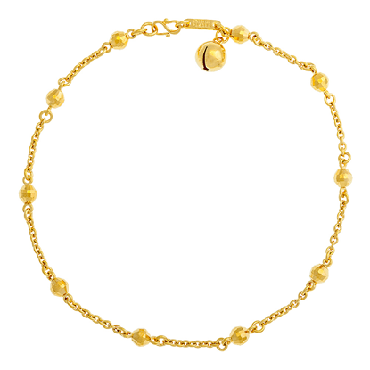 Picture of Gold Plated Anklet Jewellery (AL8644)