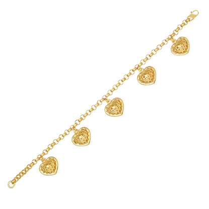 Picture of Gold Plated Bracelet Jewellery (BT8515)
