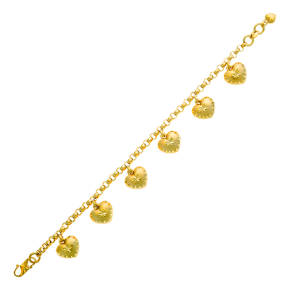 Picture of Gold Plated Bracelet Jewellery (BT8572)