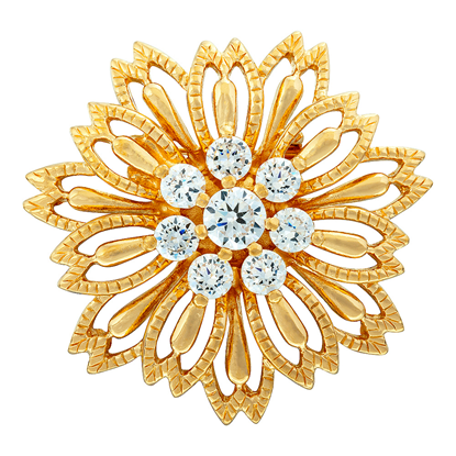 Picture of Gold Plated Brooch Jewellery (BH8321)