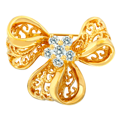 Picture of Gold Plated Brooch Jewellery (BH8325)