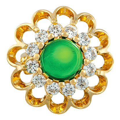Picture of Gold Plated Brooch Jewellery (BH8329)