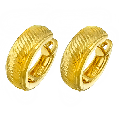 Picture of Gold Plated Earrings Jewellery (ER8307)