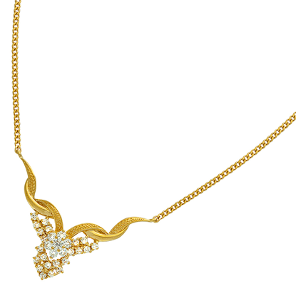Picture of Gold Plated Necklace Jewellery (NL8394)