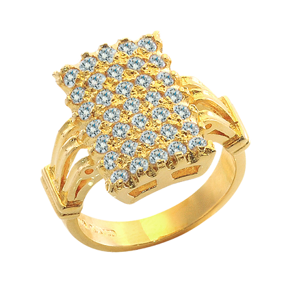 Picture of Gold Plated Ring Jewellery (RG8113)