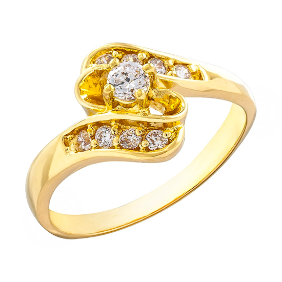 Picture of Gold Plated Ring Jewellery (RG8136)
