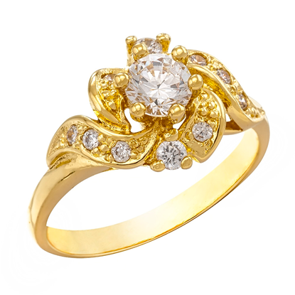 Picture of Gold Plated Ring Jewellery (RG8148)