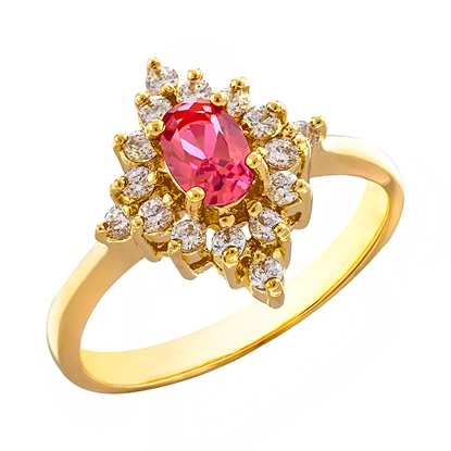 Picture of Gold Plated Ring Jewellery (RG8171)