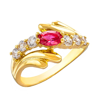 Picture of Gold Plated Ring Jewellery (RG8177)