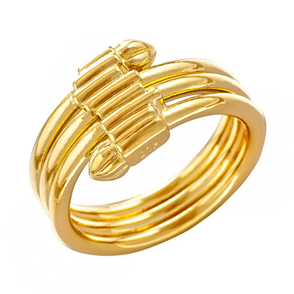 Picture of Gold Plated Ring Jewellery (RG8211)
