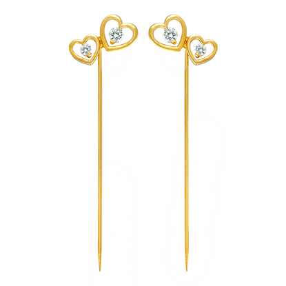 Picture of Gold Plated Scarf Pin Jewellery (HP8541)