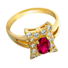 Picture of Gold Plated Ring Jewellery (RG8097)