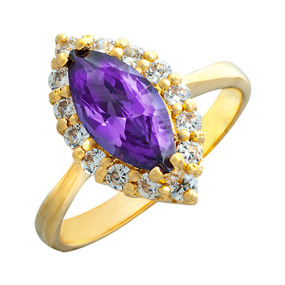 Picture of Gold-plated Ring Jewellery (RG8105)