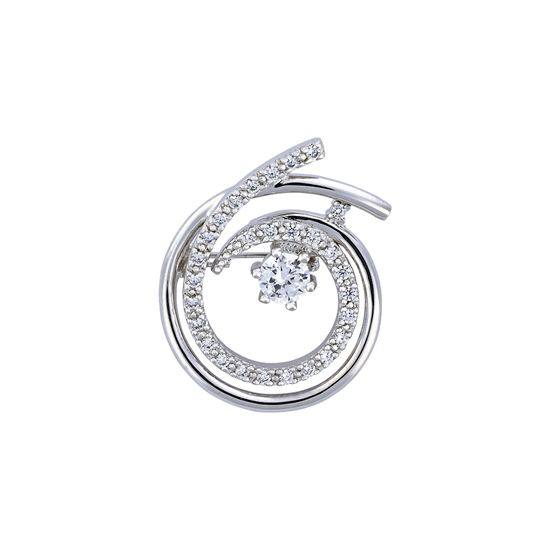 Picture of Rhodium Plated Brooch Jewellery (BH8890)