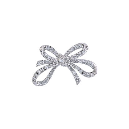 Picture of Rhodium Plated Brooch Jewellery (BH8893)