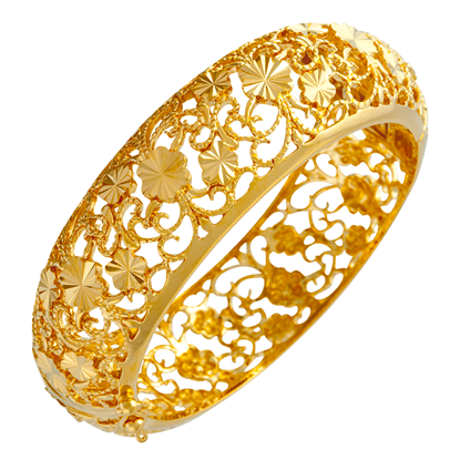 Picture of Gold Plated Bangle Jewellery (BG8468)
