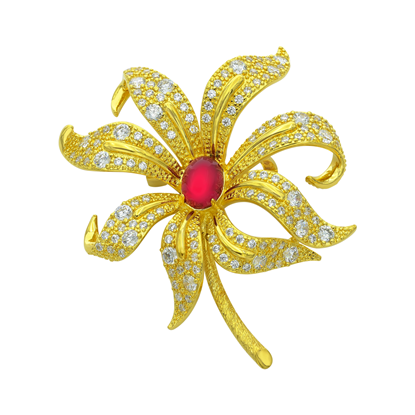 Picture of Gold Plated Brooch Jewellery (BH8923)