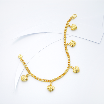 Picture of Gold Plated Bracelet Jewellery (BT8942)