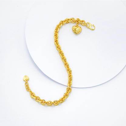 Picture of Gold Plated Bracelet Jewellery (BT8944)