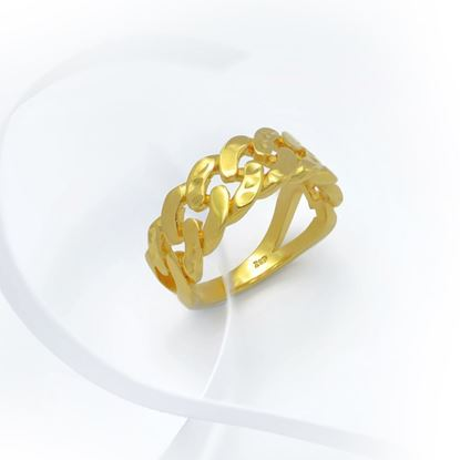 Picture of Gold Plated Ring Jewellery (RG8959)