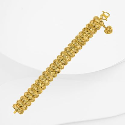 Picture of Gold Plated Bracelet Jewellery  (Rantai Tangan Pulut Dakap) (BT8965)