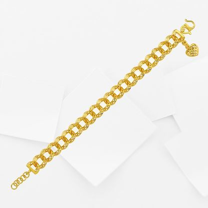 Picture of Gold Plated Bracelet Jewellery for Children (Rantai Tangan Mini Donut Italia) (BT8969)