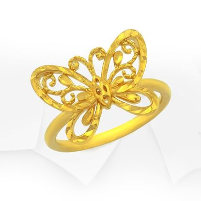 Picture of Gold Plated Ring Jewellery (RG8988)