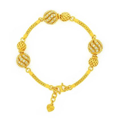 Picture of Gold Plated Bracelet Jewellery (BT9001)