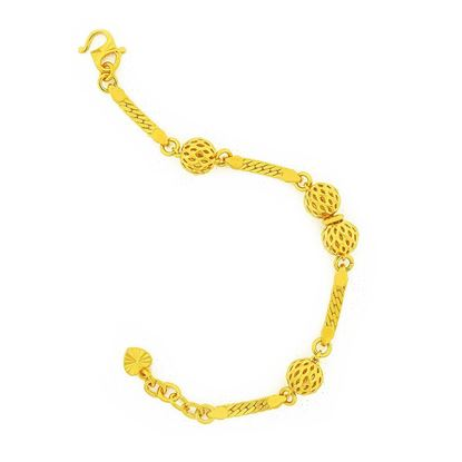 Picture of Gold Plated Bracelet Jewellery for Children (BT9003)